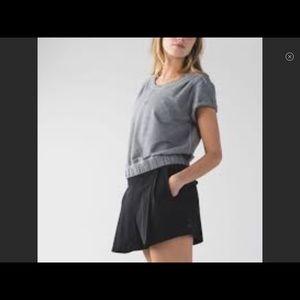 Lululemon Black & Go City Skort NWT Size 6